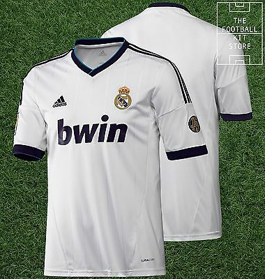 Real Madrid Home Shirt - Official Adidas Real Madrid CF Shirt - Mens - All Sizes
