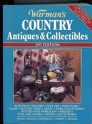 Warman's Country Antiques and Collectibles 1996