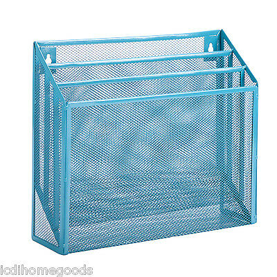 Verticle File Sorter Blue #OFC-04868 by Honey Can Do