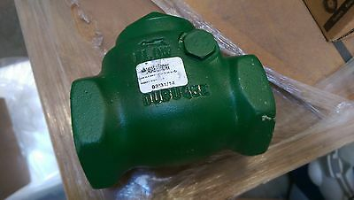 1.5 inch Morrison Bros Swing Check Valve with pressure relif
