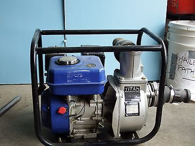 "2"" Titan Industrial Trash Pump -brand new- Gasoline Diesel WP30"