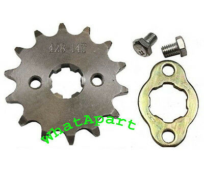 #428 14 TOOTH Sprocket (20/17mm) for Coolster 6110, 6110A