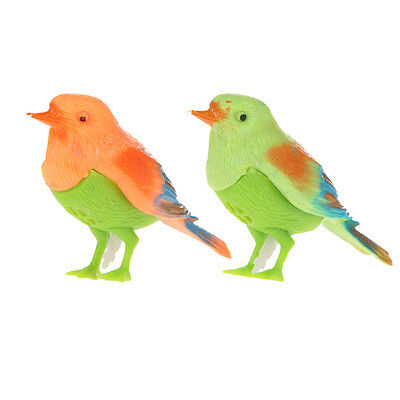 Sound Voice Control Activate Chirping Singing Bird Funny Kids Child Toys Gifts