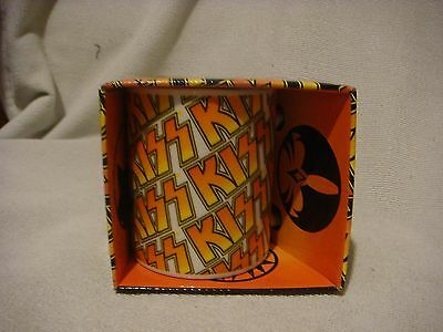 Kiss collectable mug boxed rock/pop *