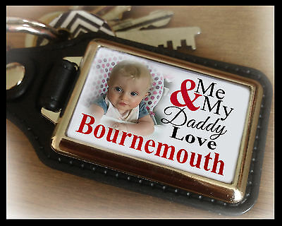Personalised unofficial keyring, Bournemouth, unique birthday christmas gift