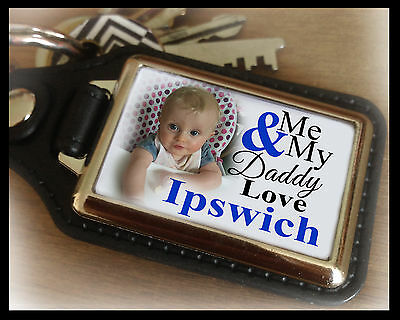 Personalised unofficial keyring, Ipswich town, unique birthday christmas gift