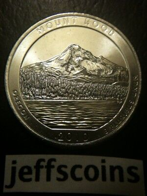 2010 P&d Mount Hood Oregon National State Park Quarter Set 25 Cent Mt Atb Pd