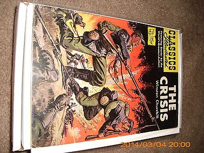 Dell Classic Illustrated The Crisis # 145 comics Very Good VG