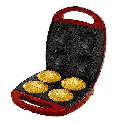 Electric Non Stick Pie Pastry Maker Machine w/ Cutter Press Tart Omelette Bake