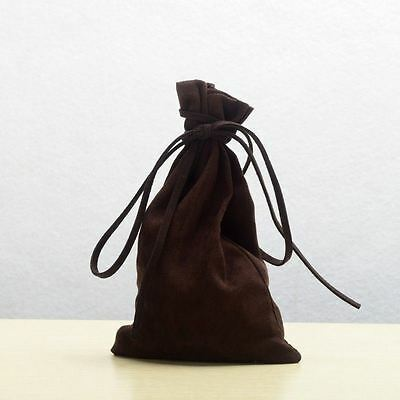 HOT Medieval/Larp/Pagan/Reenactment Money Bag  Drawstring Coin Wallet/Bag Purse