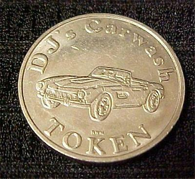 Dj's Carwash Token-No Cash Value - 1166C