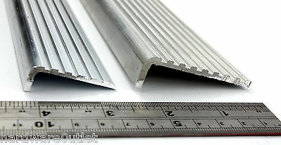 Aluminium Stair Nosing Fluted Angle Anti Slip Anti Slip Edging for Stairs Steps