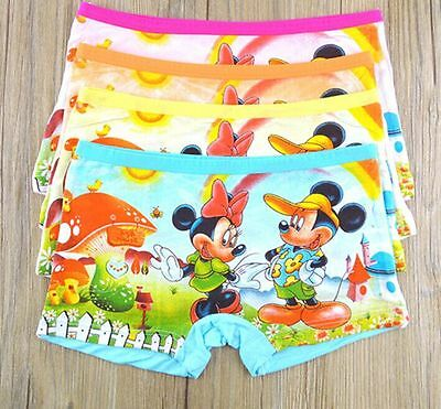 100%cotton Boys Girls cartoon mickey mouse printed briefs kids accessories