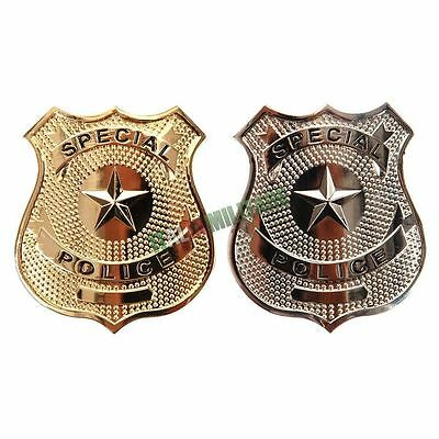 Distintivo Placca in Metallo Polizia Americana Replica SPECIAL POLICE