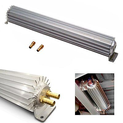18 inch Dual Pass Frame Mount Transmission Oil Cooler ford AOD C6 C4 moon socal