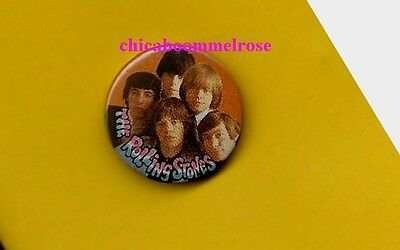 the Rolling Stones 1977 uk pinback button badge ww