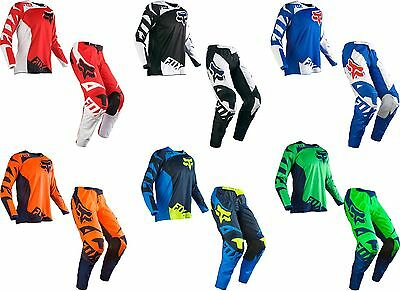 2016 Fox Racing Mens 180 Race MX ATV Offroad Motocross Jersey & Pant Combo