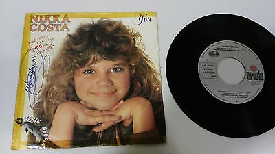 "Nikka Costa You Single 7"" Vinyl Spanish Edition Mega Rare!!!"