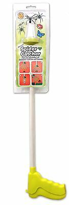 Eco-Friendly Spider and Insect Catcher Clamshell 65cm Grabber Arm Green
