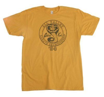 35187becb2f4d2 Karate Kid Cobra Kai All Valley Karate Championship shirt  Apparel Yellow
