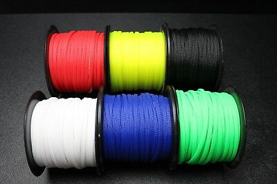 Expandable Braided Cable Sleeve Wire Sleeving High Densely Audio Pet Diy Lot