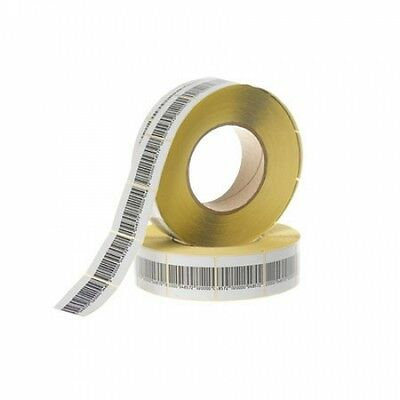 2,000 RF Labels 3x3cm size, Checkpoint® System Compatible, Fake Barcode