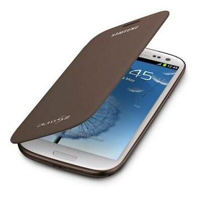 Genuine Samsung FLIP CASE GALAXY S 3 III GT i9305 original smart phone cover BR