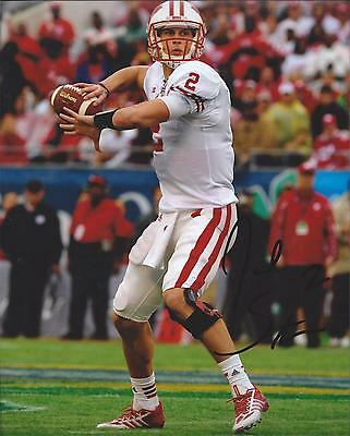 Wisconsin Badgers JOEL STAVE Signed 8x10 Photo PROOF