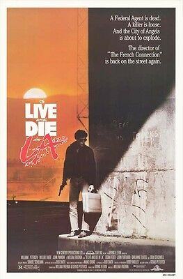 To Live and Die in L.A - Original Movie Poster - 1985 Rolled *Hollywood Posters*