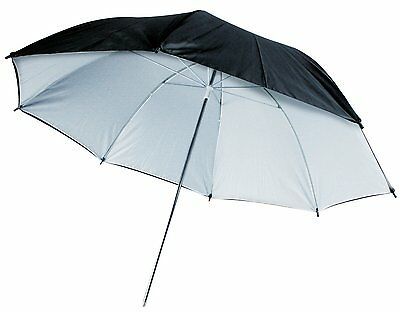 "Konig 91cm (36"") Umbrella Black/White"