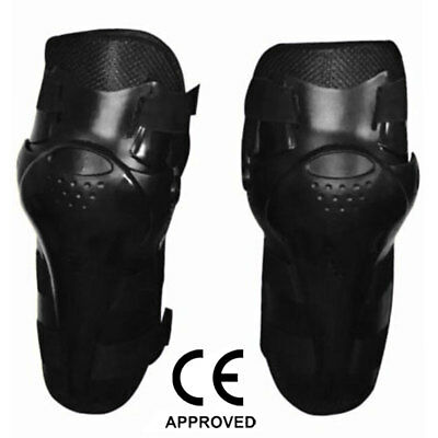 AQWA Motorbike Motorcycle / Motocross Body Armour Knee Guard Pads Protection BLK
