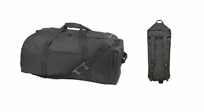 "31"" Extra Large Sports Bag Duffle Duffel Bag Backpack Workout Travel Gym Fitness"