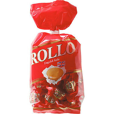 Malaco Rollo English Toffee & Milk Chocolate Candy 225g (8.0 oz) Made in Sweden