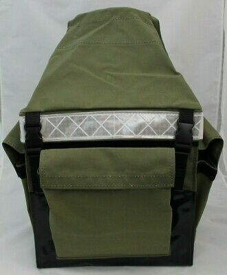 Canvas Mining Tool Bag/Crib Bag toolbag GREEN HI TOP 100% Australian Made