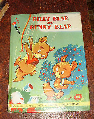 Billy Bear and Benny Bear~Overeijnder Mulder & Zoon Hb