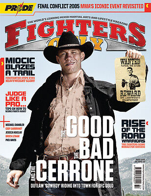 Fighters Only Magazine Issue 132 (September 2015 Issue)