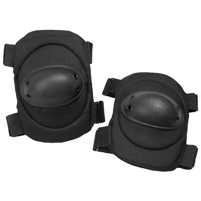 Tactical Military Elbow Pads Protection Army Combat Work Paintball Airsoft Black