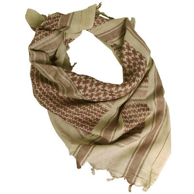 Military Combat Shemagh Army Patrol Shermag Tactical Scarf Keffiyeh Coyote Brown