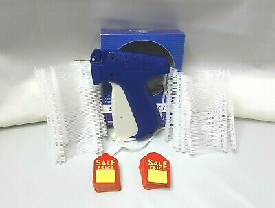 Clothing Price Tagging Tag Tagger Gun With 1000 Pins Fastener 100 Sales Tag