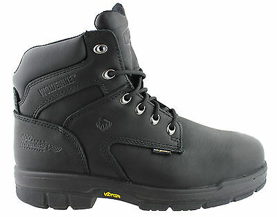 Wolverine Turner 6 Inch Mens Steel Toe/lace Up Comfortable Safety Boots