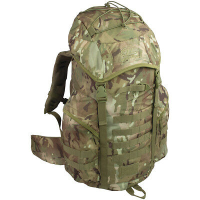 New Forces Pro-Force Highlander Rucksack Water Repellent Backpack 44L Hmtc Camo