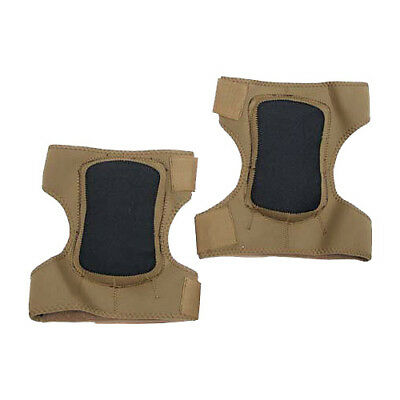 Army Neoprene Foam Protection Knee Pads Paintball Airsoft Shooting Coyote Brown