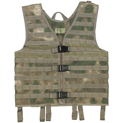 Mfh Light Hunting Molle Vest Fishing Top Airsoft Army Combat Carrier Hdt Camo Fg