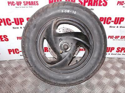 2009 Yr Yamaha Vity Xc 125 E Moped Front  Wheel And 3.50-10 Tyre   0000278406