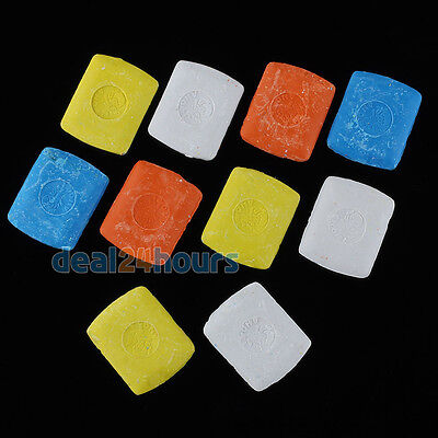 Multicolored Fabric Marking Tailor Chalk Tailoring Dressmaking Chalks Pack of 10