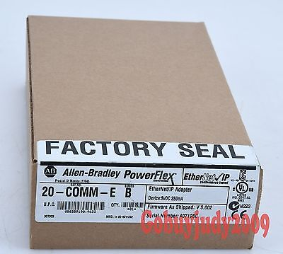 New In Factory Seal box Allen Bradley EtherNet/IP Adapter 20-COMM-E 20COMME
