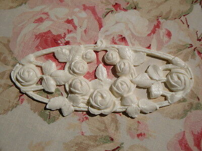 "Shabby & Chic ""FRENCH CABBAGE ROSES""  Architectural Furniture Applique Onlay"