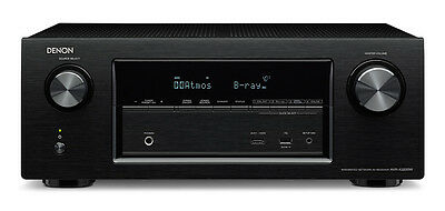 Denon AVR-X3200W 7.2 Channel 4K Ultra HD AV Receiver with Bluetooth and WiFi