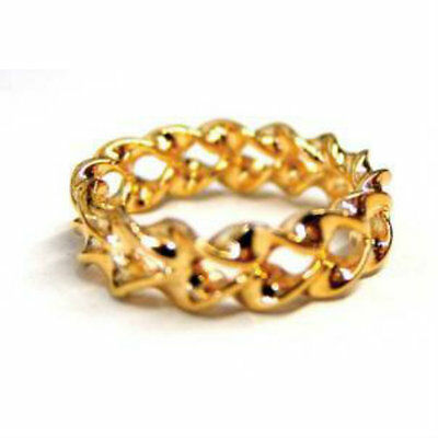 Optical Illusion Gold Ring - Magic Tricks - New