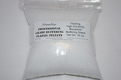 Plastic Pellets for Rock Tumbling Polishing 2 lbs.